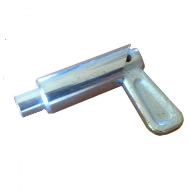 Federriegel Ø 12 mm / zum Schweißen / verzinkt