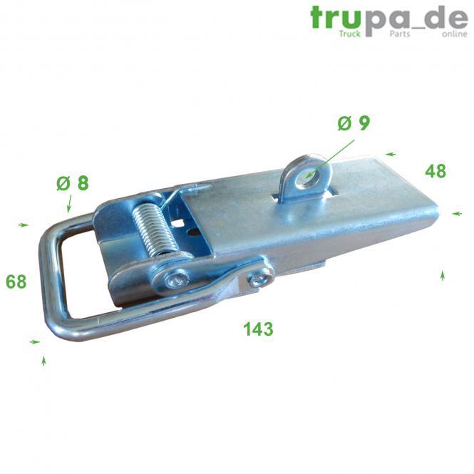 Exzenterverschluss verzinktes Blech Verschluss / runde Löcher