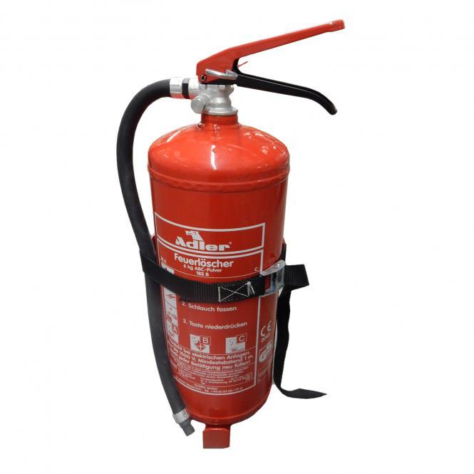 Feuerlöscherhalter Pure Variante für 6kg Löscher