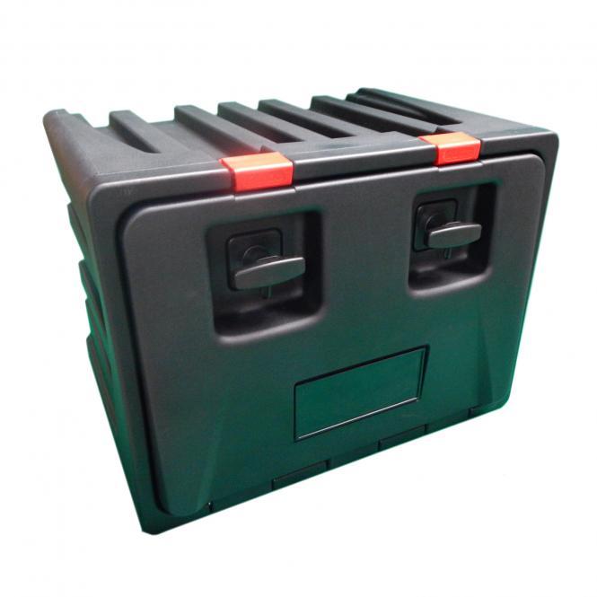 Werkzeugkasten mit 2x Drehverriegelung B700 / H450 / T650 mm