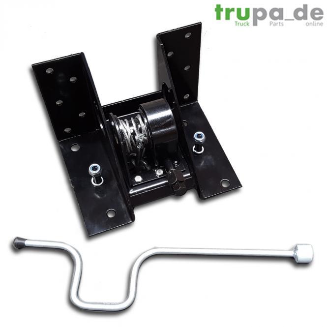 Ersatzradhalter für 8 - 10 Loch-Felgen 225 - 275 - 335 mm